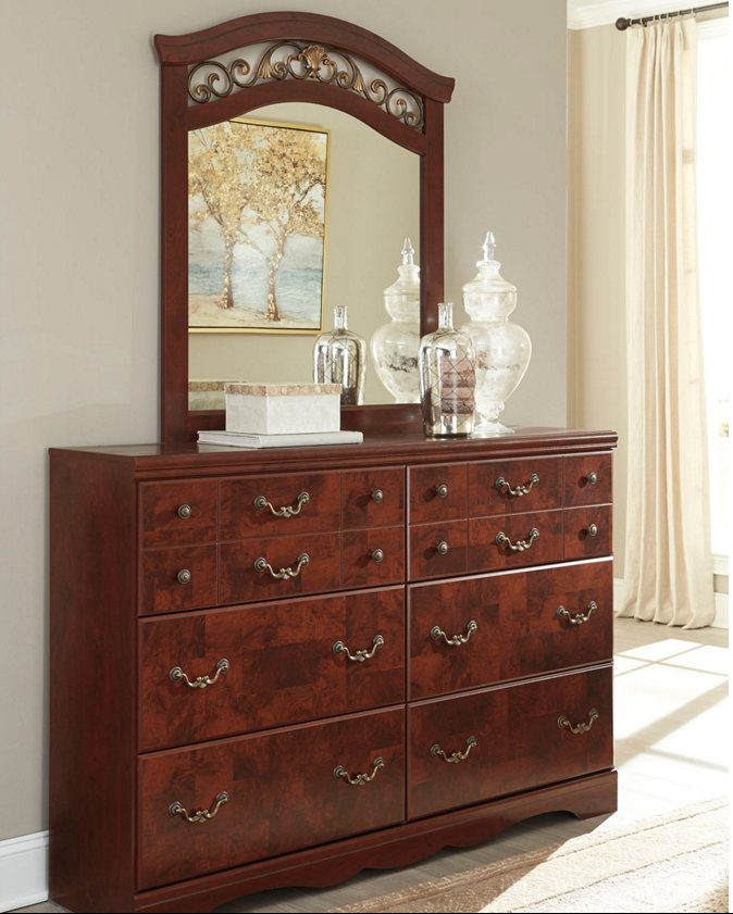 Delianna Dresser and Mirror