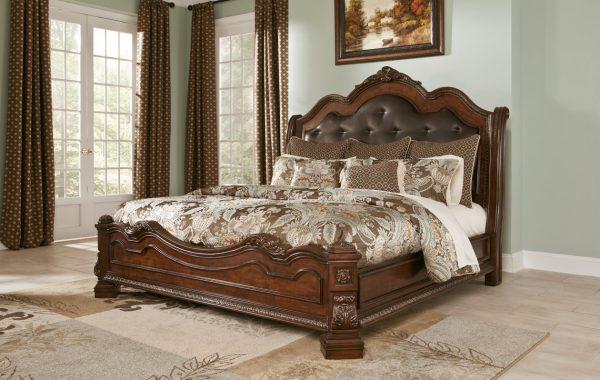 Ledelle Queen Sleigh Bed