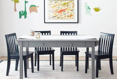 Carolina Craft Table 4 Chairs Set